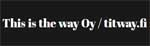 This is the way Oy